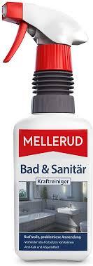 mellerud bad sanitär kraftreiniger wirksames spray gegen kalk wasserflecken im badezimmer 1 x 0 5 l