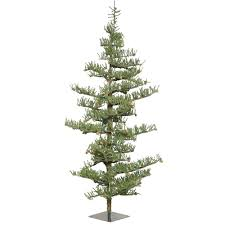 8 Ft Mountain Pine Artificial Christmas Tree by Artificial Christmas Trees Unlit Artificial Christmas Trees