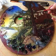 Paint Pallet Support 9