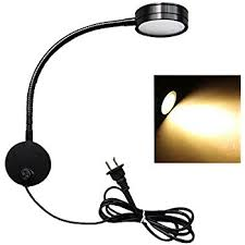 Wall Mounted Reading Lights For Bedroom by Flexible Gooseneck Wall Mount Reading Lamp Light Led Wall Sconce