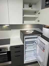 nolte musterküche preiswerte nolte küche in stahlgrau weiß