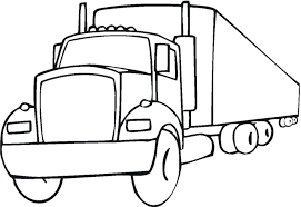 Easy Fire Truck Coloring Pages Printable Kids Colouring Drawing 2000 ...