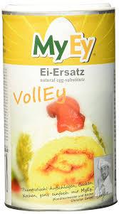 myey volley ei ersatz natürlich voll aufschlagbar universell einsetzbar lactosefrei vegan 1 x 200 g