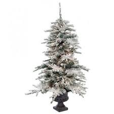 Pre Lit Flocked Christmas Tree Canada by Holiday Gifts Christmas Trees Decorations Wreaths Kremp Com