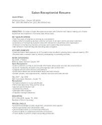 Objective For Resume Receptionist Medical Office Example Front Desk