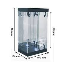 Image Is Loading MB Acrylic Display Case LED Light Box For