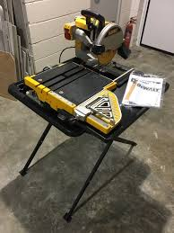 Dewalt Tile Saw Water Pump by Tile Saws And Diamond Tools For Tile Setters Husqvarna Products