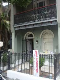 100 Sydney Terrace House Federation Painting