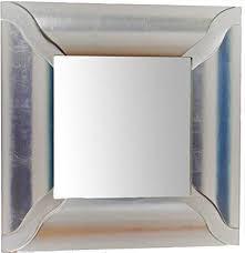 mo wa spiegel wandspiegel versilbert blatt silber cm 66 x