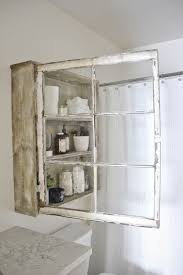 Medicine Cabinets Charming Country Style Wooden Cabinet With Mirror