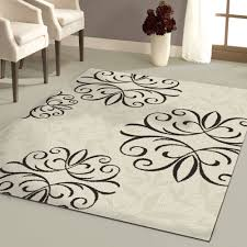 Walmart Outdoor Rugs 5x8 by Better Homes And Gardens Iron Fleur Area Rug Black Home Outdoor