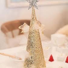 Red Metallic Foil Christmas Tree Confetti