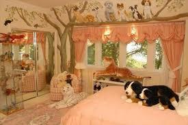 Girly Jungle Themed Bedroom