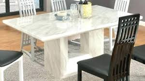 Marble Top Dining Set Table And Chairs Tables New Great