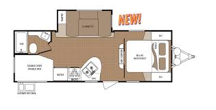 Travel Trailer Floor Plans Rear Kitchen by New Travel Trailers For Sale In Butte Mt
