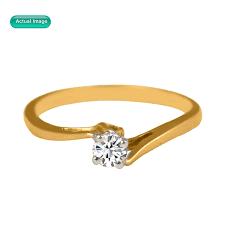 Piatella Piatella Ladies Gold Tone Mother Of Pearl Knuckle Ring