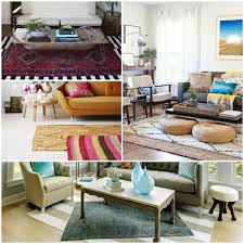 teppiche fürs wohnzimmer übereinander legen