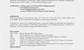 Mig Welder Resume Examples Funfpandroid