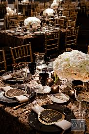 Gold And Black Wedding Decor Gallery Decoration Ideas