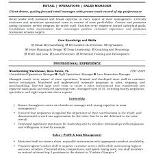 Retail Supervisor Job General Manager Description Resume Store Cover Letter Luxury Sample Template Jobs Melbourne