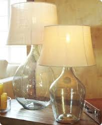 Fillable Lamp Base Ideas by Fillable Glass Lamp Ideas Glass Lamp Square Glass Fillable Lamp