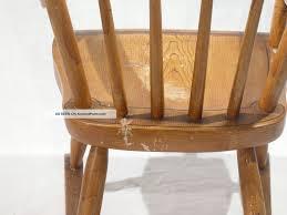 Antique Pennsylvania Child ' S Rocking Chair, Grain Paint ...