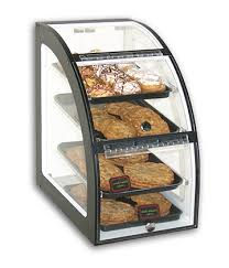 65231 Countertop Curved 2 Door Pastry Case 15L X