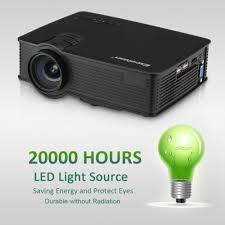 3d hd 1080p led projector 3000 lumens hdmi usb 50000 l