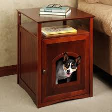 luxury dog crate end table house design make a dog crate end table