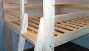 Loft Bed Woodworking Plans by Free Woodworking Plans To Build A Full Sized Low Loft Bunk The