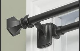 Kohls Tension Curtain Rods by Brilliant Tension Curtain Rods Sets Curtain Rods Hardware The Home