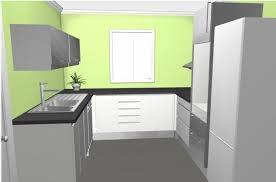 cuisine grise et plan de travail noir cuisine gris anthracite plan de travail noir 20170929164404
