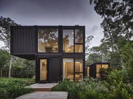 100 Containers Home This Airy Hamptons Is Made From Six Shipping