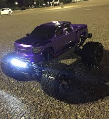 100 Traxxas Nitro Rc Trucks 4x4 Stampede VXL Brushless Many Up Grades Running On A 2c
