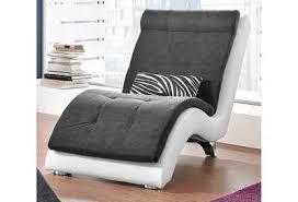 collection ab relaxliege inklusive nierenkissen in zebra dessin korpus in hochwertigem kunstleder softlux