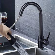 schwarz ausziehbar küchenarmatur mischbatterie wasserhahn