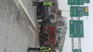100 Two Men And A Truck Cleveland Crash Involving Fire Truck Closes Lanes On I71