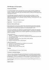 Sample Resume For Restaurant Manager Position Awesome Templates General Jobtion Examples