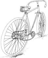 Two Speed Bike Clipart