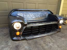 Bare Steel,bench Made From A 1955 Chevy Truck Front Clip. Black Oak ... 881998 Chevy Truck 8piece Black Halo Headlights Set Wxenon Bulbs Billet Front End Dress Up Kit With 7 Single Round 1973 Lumen Ck Pickup 1964 Projector Led Dna Motoring For 0306 Silveradoavalanche 4pc Headlight 5 Inch 1958 Wiring Diagrams Schematics 03 04 05 06 Silverado 1500 Tail Lights Parking Light 9499 Suburban Blazer Headlamps Light Blue Trucks Elegant Chevrolet Colorado Crew Cab Photo 9902 1 Piece Grille Cversion Dash In 2017 Are Awesome The Drive 072014 Tahoe Avalanche Tron Style Neon Tube