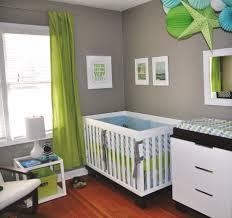 enchanting light green black and white baby nursery room