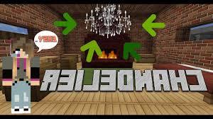 How To Make A Chandelier Minecraft Wonderful