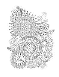 Adult Coloring Tips Flower Designs Book By Jenean Morrison