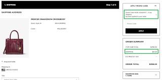 Michaelkors.com Coupon Code / Pro Image Newmarket