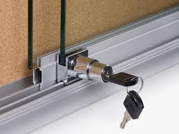 Patio White Sliding Door Security Bar by Sliding Glass Door Lock Grill