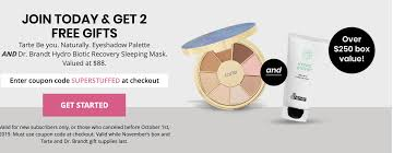 BOXYCHARM Coupon: FREE Tarte Palette AND Dr. Brandt Sleeping ... 3050 Reg 64 Tarte Shape Tape Concealer 2 Pack Sponge Boxycharm August 2017 Review Coupon Savvy Liberation 2010 Guide Boxycharm Coupon Code August 2018 Paleoethics Manufacturer Coupons From California Shape Tape Stay Spray Vegan Setting Birchbox Free Rainforest Of The Sea Gloss Custom Kit 2019 Launches June 5th At 7 Am Et Msa Applying Discounts And Promotions On Ecommerce Websites Choose A Foundation Deluxe Sample With Any 35 Order Code 25 Off Cosmetics Tarte 30 Off Including Sale Items