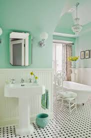 35 vintage black and white bathroom tile ideas and pictures black