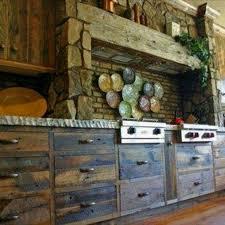Rustic Log Cabin Kitchen Ideas by 38 Best Kitchen Ideas Images On Pinterest Rustic Kitchen
