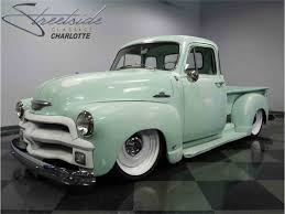 1954 Chevrolet 3100 For Sale | ClassicCars.com | CC-989736 Tci Eeering 471954 Chevy Truck Suspension 4link Leaf 1954 Pickup 3100 31708 Jchav62 Flickr Restoration Pictures Chevrolet Classics For Sale On Autotrader Advance Design Wikipedia 5 Window Pickup F1451 Indy 2016 Image 803 Sema 2017 Quadturbo Duramaxpowered 54 Auto Bodycollision Repaircar Paint In Fremthaywardunion City Yarils Customs A Beautiful Two Tone Stepside