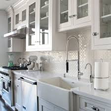 Stone Tile Backsplash Menards by Luxury Kitchen With Stainless Steel Glass Subway Smart Tile Lowes
